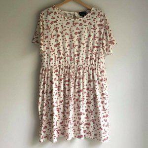 ASOS Wednesday's Girl Ditsy Floral Dress - L